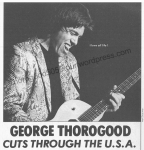 00 Creem Magazine Feb 1982 - Thorogood 50 50 Tour Headline Cuts Through USA