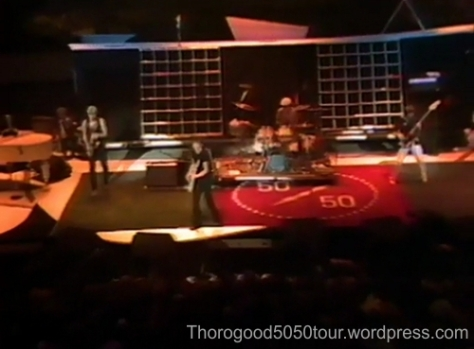 50 50 Tour Carpet Hampton VA Dec 18 1981 George Thorogood Opening for the Rolling Stones