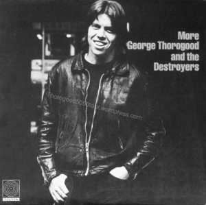 00 George Thorogood and the Destroyers More Album Cover