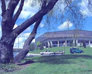 04 Pullman Beasley Coliseum Postcard Building Exterior
