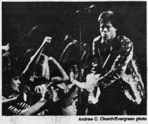 04 Pullman George Thorogood 50 50 Concert Review w Photo Evergreen Oct 28 1981 pg10 Pic