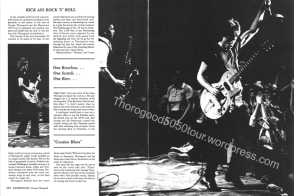 04 Pullman Washington State University Chinook Yearbook George Thorogood 50 50 tour Article