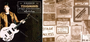 00 George Thorogood Anthology CD Inlay w 50 50 Tour Backstage Passes