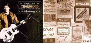 00 George Thorogood Anthology CD Inlay w 50 50 Tour Backstage Passes