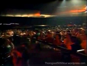 20 Park West Chicago Venue Interior 1980 Manhattan Transfer Concert v2
