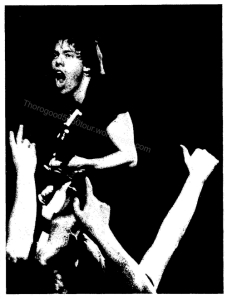 48 George Thorogood 50 50 Tour Popejoy Hall Concert Photo New Mexico Daily Lobo Dec 14 1981 Main Photo