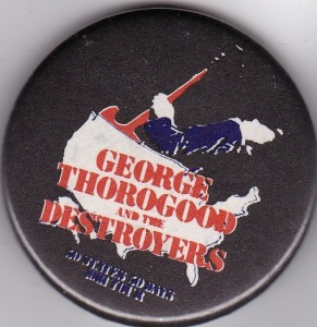 00 50 50 Tour Button George Thorogood