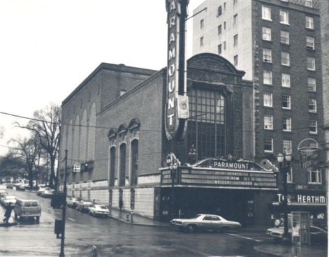 03 Paramount Theater Portland exterior early 1980s
