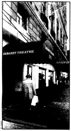 26 Bradford Hotel Ballroom Front Entrance November 1983