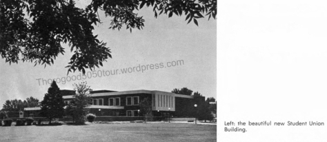 05 Street View Boise State Student Union Building 1968 BSU Yearbook