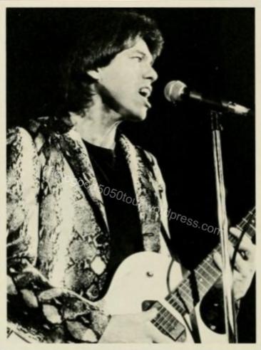 23 George Thorogood 50 50 Tour West Virginia University Mountainlair Ballroom 1981 Nov 14 Concert Photo 1982 Monticola Yearbook