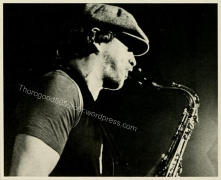 23 George Thorogood 50 50 Tour West Virginia University Mountainlair Ballroom 1981 Nov 14 Hank Carter Photo 2 1982 Monticola Yearbook