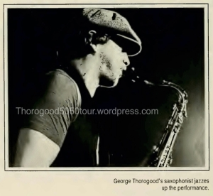 23 University of West Virginia Monticola Yearbook 1982 pg 74 George Thorogood 50-50 Tour Photo 3