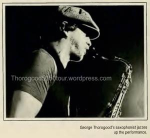 23 University of West Virginia Monticola Yearbook 1982 pg 74 George Thorogood 50-50 Tour Photo 3
