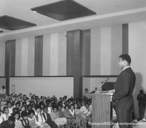 23 University of West Virginia Mountainlair Ballrooms Interior 1969 Muhammad Ali Photo