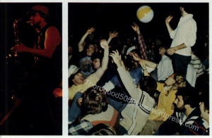 33 Thorogood 50 50 Tour University of Delaware Yearbook 1982 Concert Photos pp 12-13b