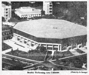 04 Beasley Performing Arts Coliseum Exterior WSU Hilltopics December 1981 Pg 3