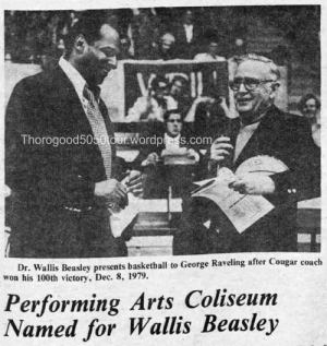 04 Renaming of Beasley Performing Arts Coliseum WSU Hilltopics December 1981 Pg 3