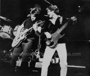 14 George Thorogood 50 50 Concert Photo 3 University of Iowa Bomb Yearbook 1982 pg 233