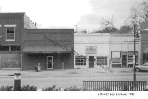44 Library Club Fayetteville Front 1992 Source Once Upon Dickson Book Pg 193