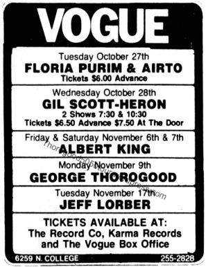 18 George Thorogood Concert Ad 50 50 Tour Indianapolis Star Oct 25 1981