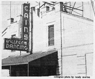 46 Cains Ballroom Exterior University of Tulsa Collegian Student Newspaper Oct 16 1975