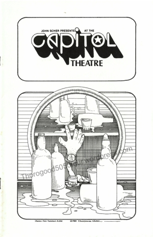 32-george-thorogood-capitol-theater-nj-50-50-tour-concert-program-published-cover-nov-23-1981