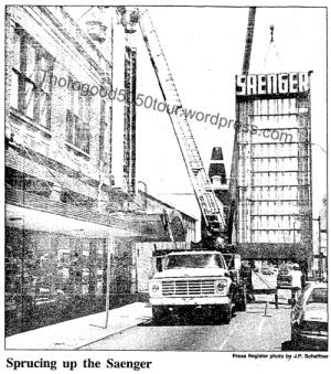 41 Saenger Exterior 1988