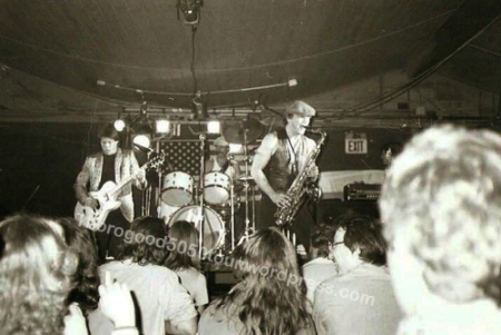 12 George Thorogood 50 50 Tour Zodiac Lounge Concert Photo Moorhead MN 1981 Nov 3