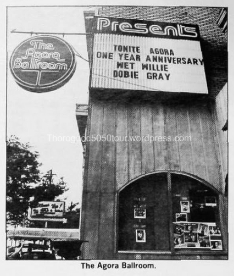 39 Agora Ballroom Atlanta Front Entrance Billboard Magazine 1981 Sept 26