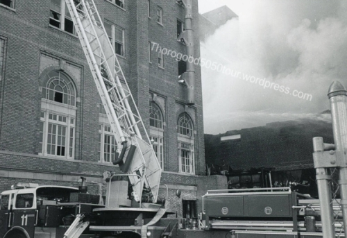 39 Fire Destroys Agora Ballroom Atlanta 1987 Georgia State University Archives