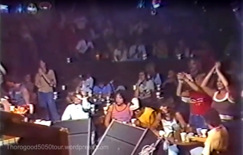 06 New Faces Roadhouse Salt Lake City Utah Interior View 1981 Traveler Concert Crowd Applause