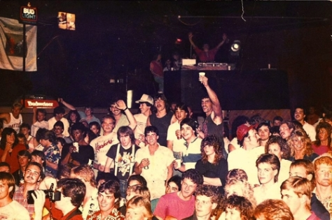 09 Barbarian Rapid City Interior Crowd Shot Wakefield Concert 1980s