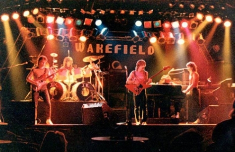 09 Barbarian Rapid City Interior Wakefield Band on Stage 1983