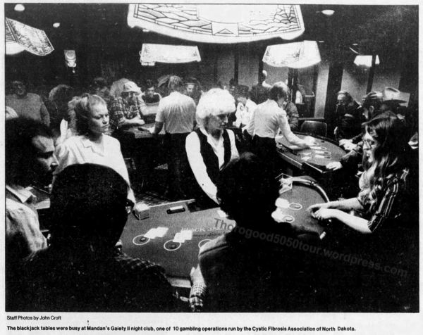 11 Gaiety II interior Gambling Tables Star Tribune Feb 21 1982 pg 1B