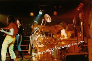 50 Las Vegas Troubador Interior 1982 Notorious Band Onstage