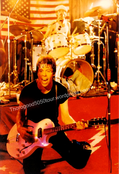 50 Las Vegas Troubadour George Thorogood 50 50 Tour Concert Photo with 50 50 Rug Michael Schivo