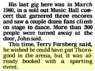ALT5050 13 George Thorogood 50 50 Tour Omaha Civic Auditorium Not Available Sunday World Herald Nov 1 1981 pg 02