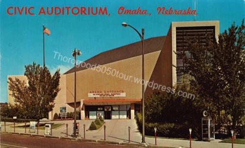 ATL5050 13 Civic Auditorium Omaha Nebraska